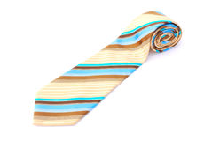 Business neck tie on white Stock Photography
