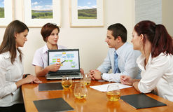 Business Negotiations royalty free stock photography