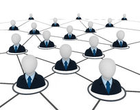 Business network. Stock Photos