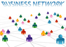 Business Network. An image of a business network Royalty Free Stock Photo