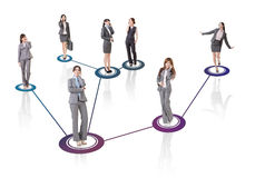 Business network Royalty Free Stock Image