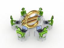 Business network concept. Stock Photos