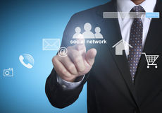 Business, network, social, networking, search, isolated, friend Royalty Free Stock Photography