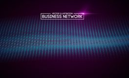 Business network technology. Internet growth and technology network. Abstact connection polygonal elements. Business network technology. Internet growth and vector illustration
