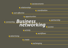 Business networking Royalty Free Stock Images