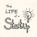 Business and new life start up infographic layout. Stock Photo