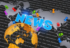 Business news Royalty Free Stock Photography