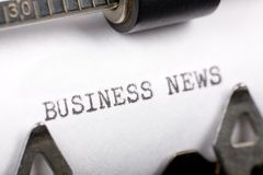 Business News Royalty Free Stock Photos