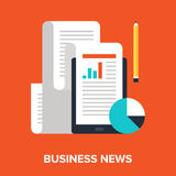 Business news Images libres de droits