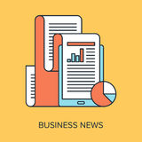 Business news Photographie stock