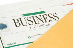 Business news Stock Image