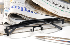 Business news in the morning Royalty Free Stock Photo
