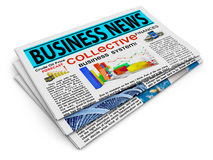 Business news Stock Photos