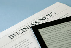 Business news Stock Photo