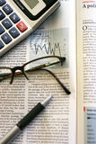 Business Newspaper Royalty Free Stock Images