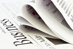 Business Newspaper Stock Images