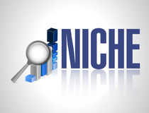 Business niche illustration design Stock Photos