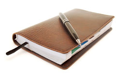 Business notebook Royalty Free Stock Photos