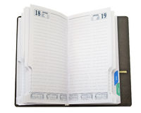 Business notebook Royalty Free Stock Photo