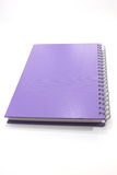 Business notebook isolated on white background. Stock Image