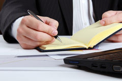 Business notes Royalty Free Stock Photos
