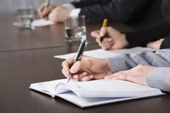 Business notes Stock Image