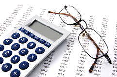 Business numbers Stock Photos