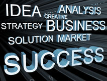 Business objective concept Royalty Free Stock Images