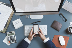 Free Business Objects Office Workspace Desk Concept Stock Image - 77966041