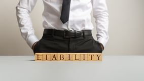 Business obligation and responsibility concept stock image