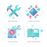 Business Offer. Abstract Features Concepts Stock Photography