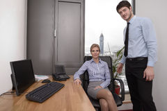 Business office Royalty Free Stock Photos