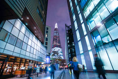 Business office building in London, England Royalty Free Stock Photos