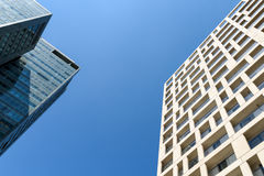 Business Office Buildings And Residential Buildings In Donau City District Of Vienna Royalty Free Stock Photography