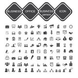 Business office and business person icon Stock Images