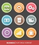 Business and office buttons Royalty Free Stock Photo