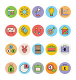 Business and Office Colored Vector Icons 12. Get for your next business and financial designs! Here is a pack of Business and Finance Vector Icons. Express your Stock Images