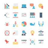 Business and Office Colored Vector Icons 6. Get for your next business and financial designs! Here is a pack of Business and Finance Vector Icons. Express your Stock Photography