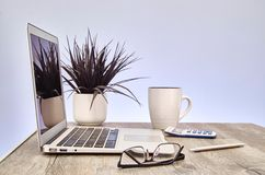 Business Office Desk Stock Photography