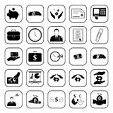Business, Office & Finance icons set. Business, Office & Finance 25 icons set Royalty Free Stock Image