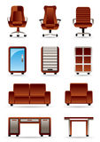 Business office furniture Royalty Free Stock Image