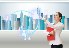 Business office of the future Stock Images