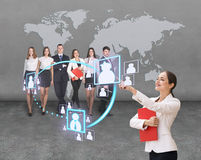 Business office of the future Stock Photos