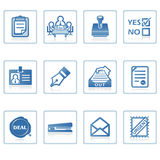 Business and Office icon II Stock Photo