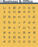 Business and office  icon set Stock Photo