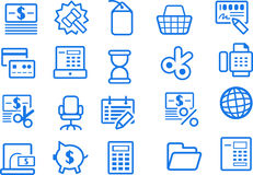 Business/office icons �3 Royalty Free Stock Images