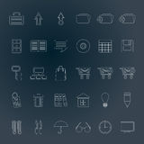 Business and office icons Stock Photo