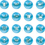 Business and office icons. Stock Photography