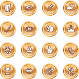 Business and office icons. Royalty Free Stock Images