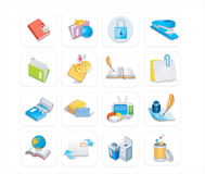 Business office icons 3 of 3 Stock Photography